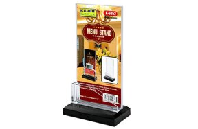 CARD STAND 1/3 A4 SET/3pcs